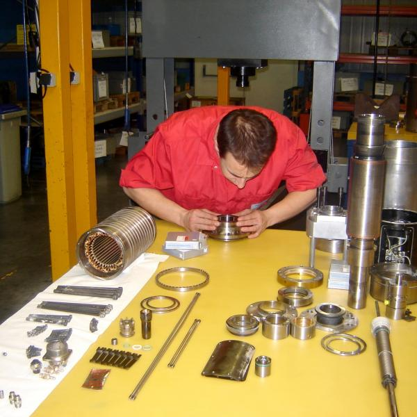 Repairing Spindles at AB Linear in Devon